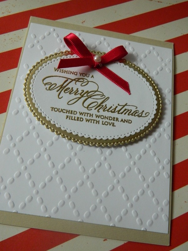 Merry X'mas Wishes - Magenta Ribbon