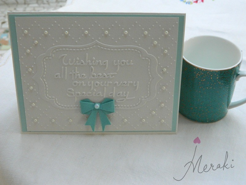 Embossed - All the Best on your Special Day