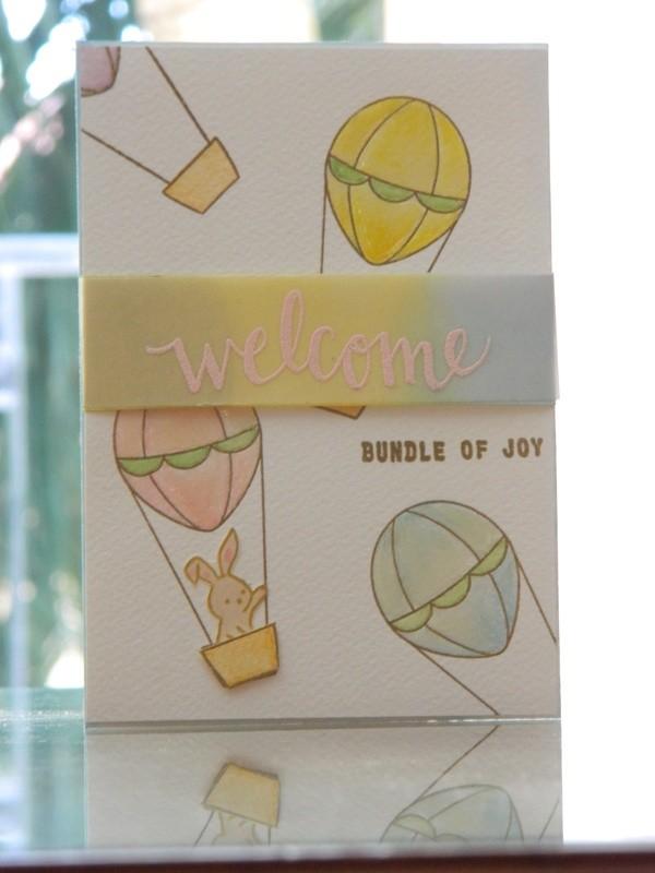 Welcome - Bundle of Joy (Hot Air Balloon)