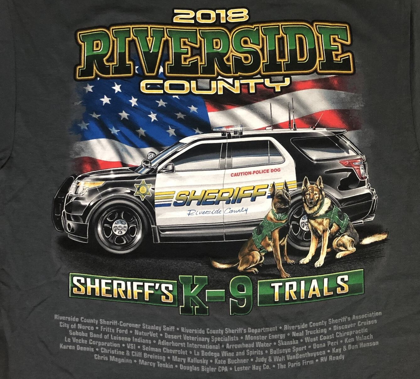 2018 Trials T-Shirt