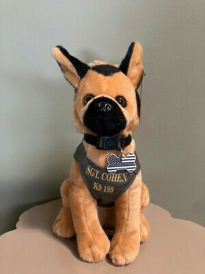 Sgt. Harry Cohen Memorial Plush