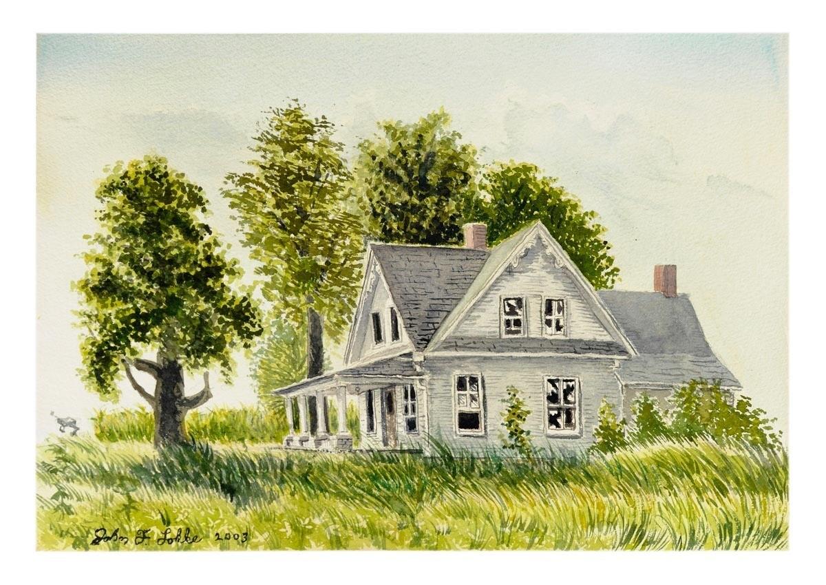 Martin House, Barada, Unframed