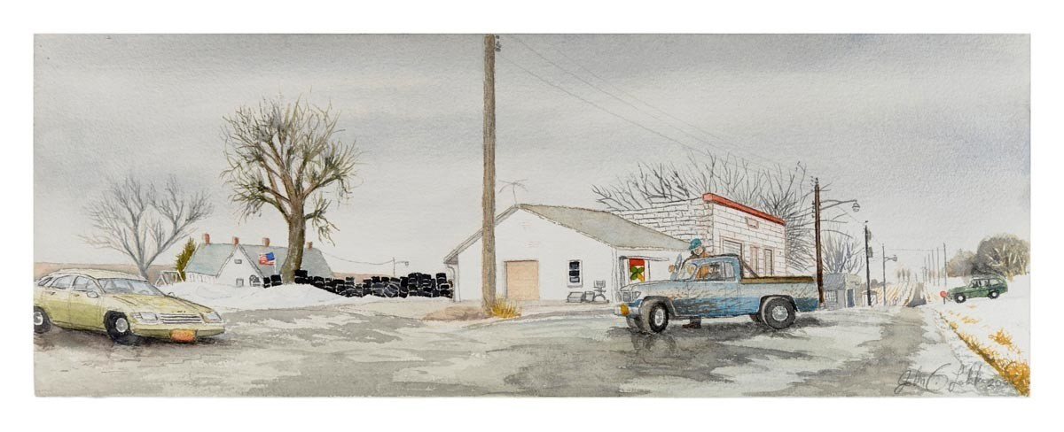 Howard's Grocery, Downtown Barada, Unframed