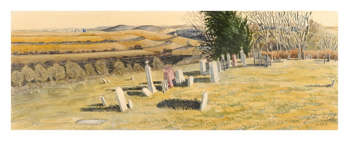 Arago Cemetery, Richardson County, Nebraska, Unframed