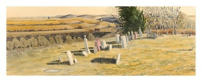 Arago Cemetery, Richardson County, Nebraska, Framed