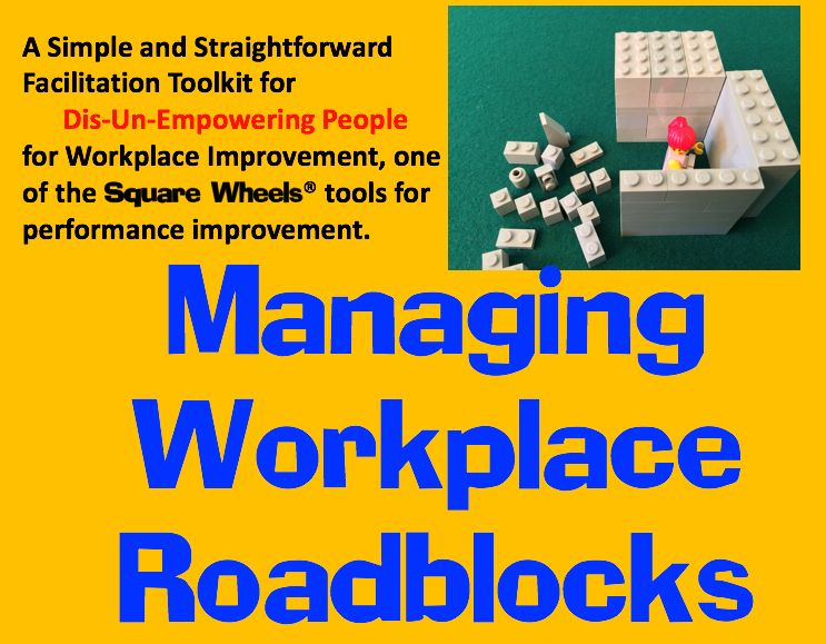 MANAGING WORKPLACE ROADBLOCKS TOOLKIT