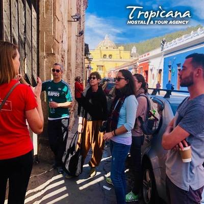 Walking Tour Antigua Guatemala