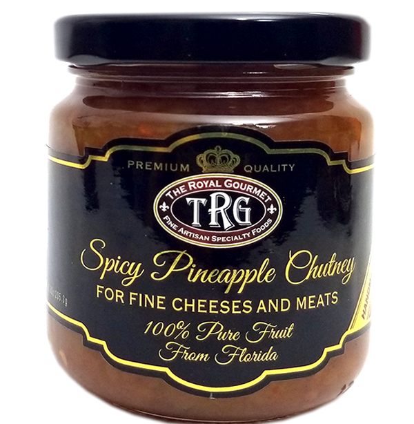 Spicy Pineapple Chutney
