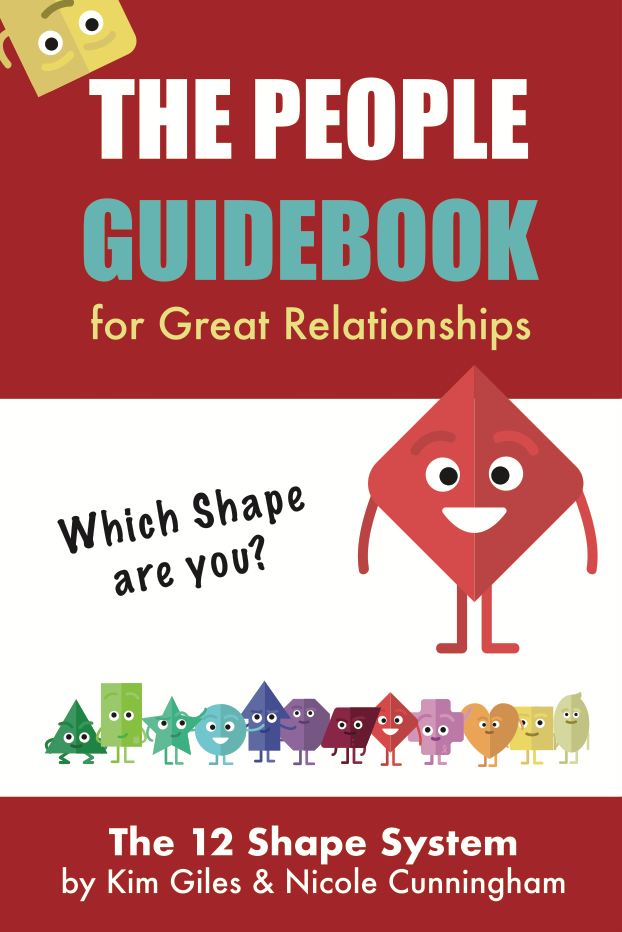 The People Guidebook: for great relationships  (12 shapes version)