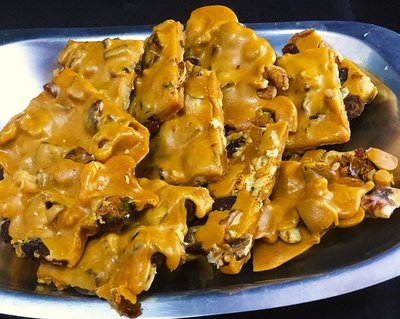 Salted Caramel Bourbon Brittle   (1/2  pound)