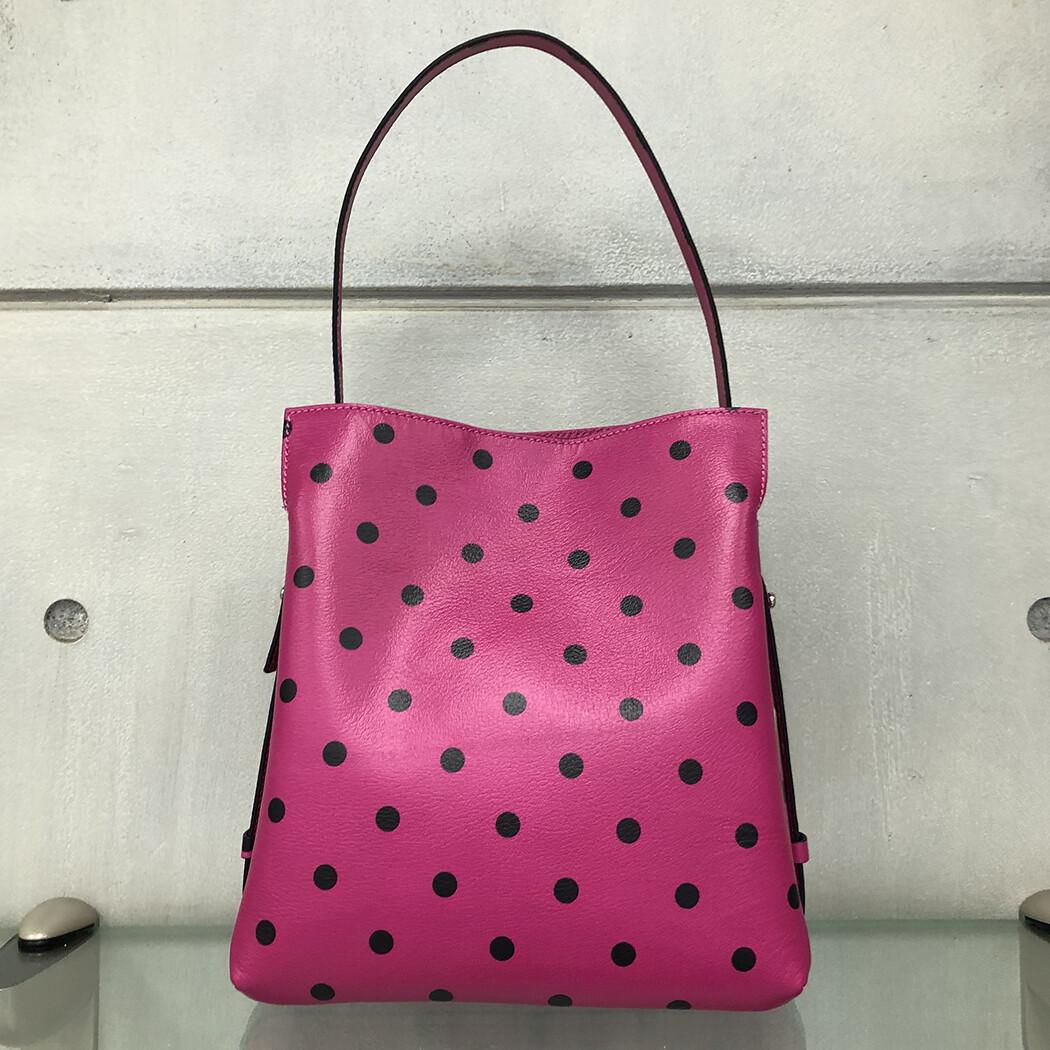 Anna - Pink with polka dots