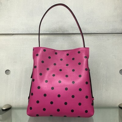 Anna - Pink with polka dots