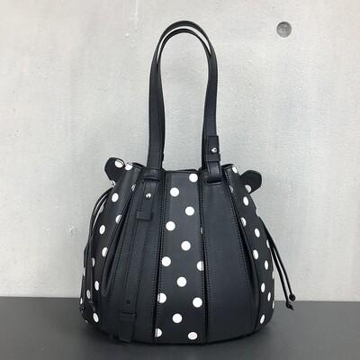 Fern - Black and Polka Dots