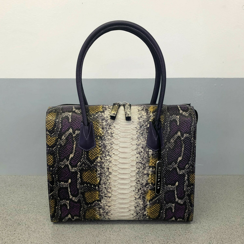 Becky - Purple snake print