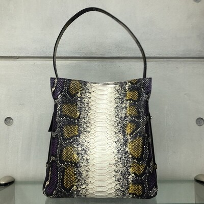 Anna -Purple Snake pattern