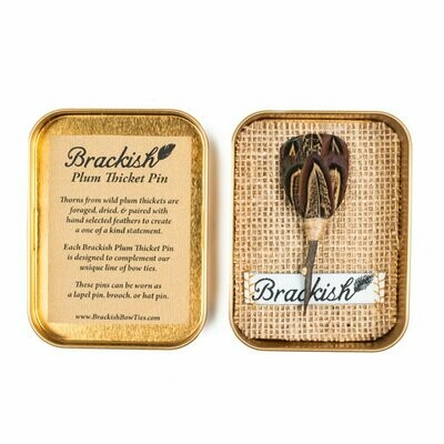Brackish Buck Plum Thicket Pin
