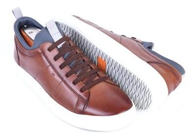 Martin Dingman Cameron Hand-Finished Saddle Leather Sneaker
