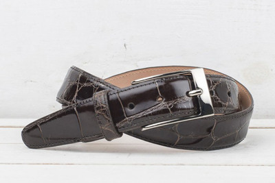 Martin Dingman Joseph Alligator Belt