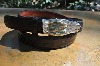 Red Fish Brand Alligator Buckle