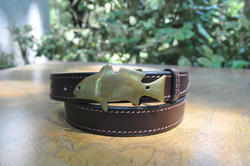 Red Fish Brand Spot Tail Buckle