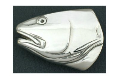 Grady Ervin & Co. Sterling Silver Redfish Buckle