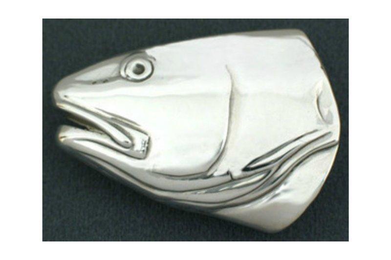 Grady Ervin & Co. Sterling Silver Redfish Buckle