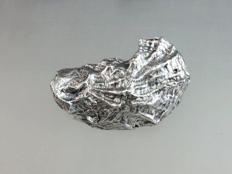 Grady Ervin & Co. Sterling Silver Oyster Buckle