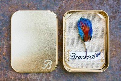 Brackish Saker Pin