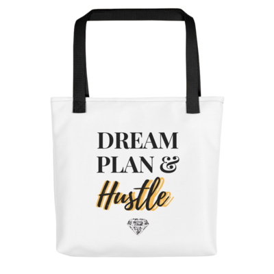 Dream Plan and Hustle Tote bag