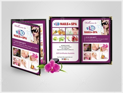 Menu Book - Client ID #5117 LD Brand
