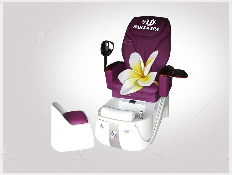 Logo - Spa Pedicure Nail Salon #5117 LD Brand
