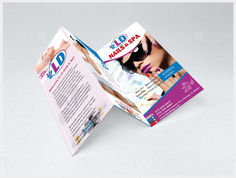 04 - Menu-Take-Out - Nail Salon #5117 LD Brand