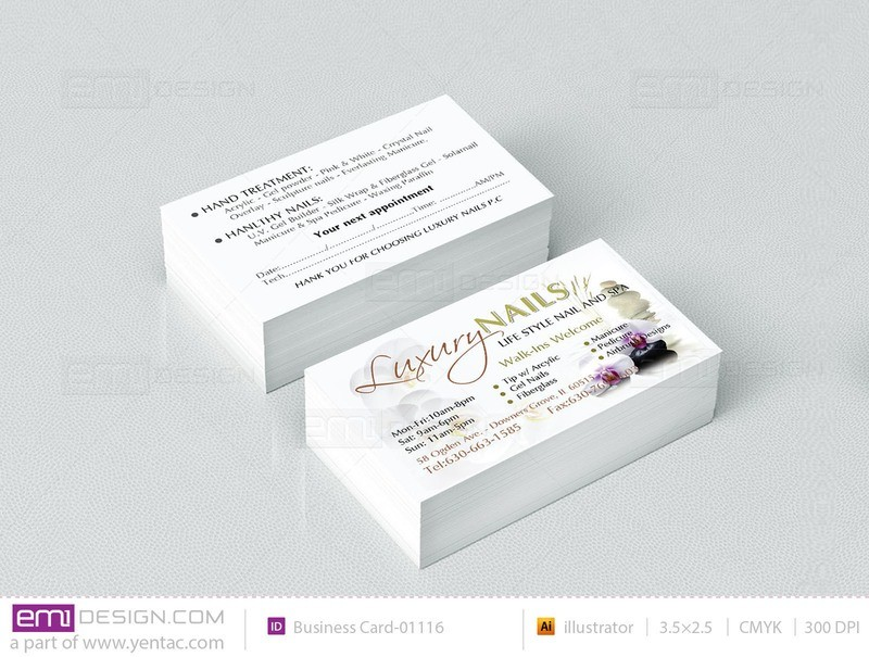 Business Card - Template BusCard-01118B