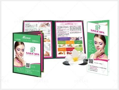 Menu Book Size 8.5x11 - Client ID #5069 LP Brand