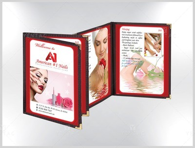 Menu Book - Client ID #1001 A1 Brand