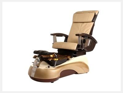 Pedicure Spa Chair - Light Gold