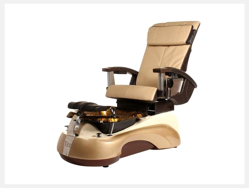 Pedicure Spa Chair - Light Gold
