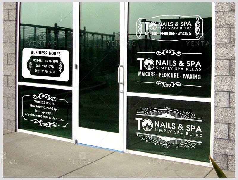 Business Hour Door Window Design
