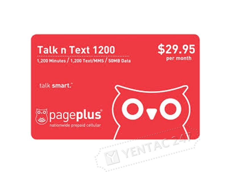 Prepaid Wireless - Page Plus