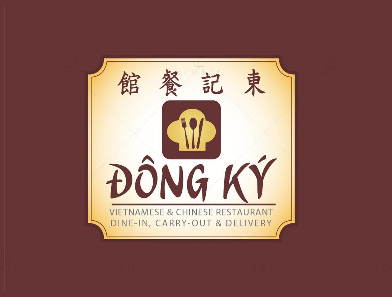 Logo & Signage Design - Restaurant #5125 Dong Ky