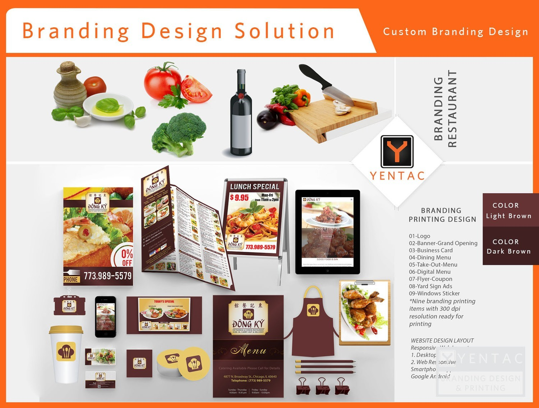 Branding - Restaurant #5125 Dong Ky