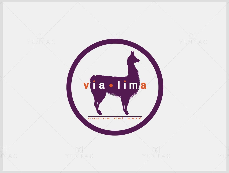 Logo & Signage Design - Restaurant #8000 Via