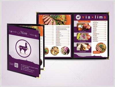 Menu Dine-In - Restaurant #8000 Via Brand