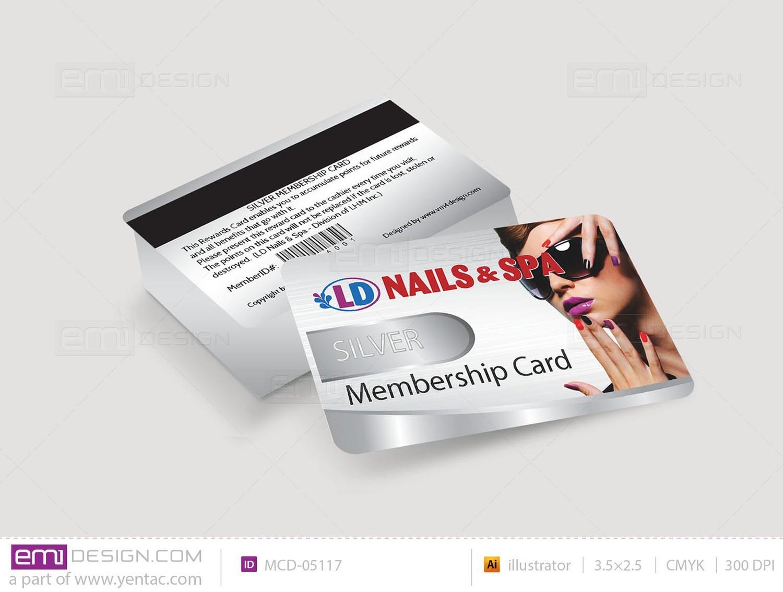 Membership Card Template MCD-05117