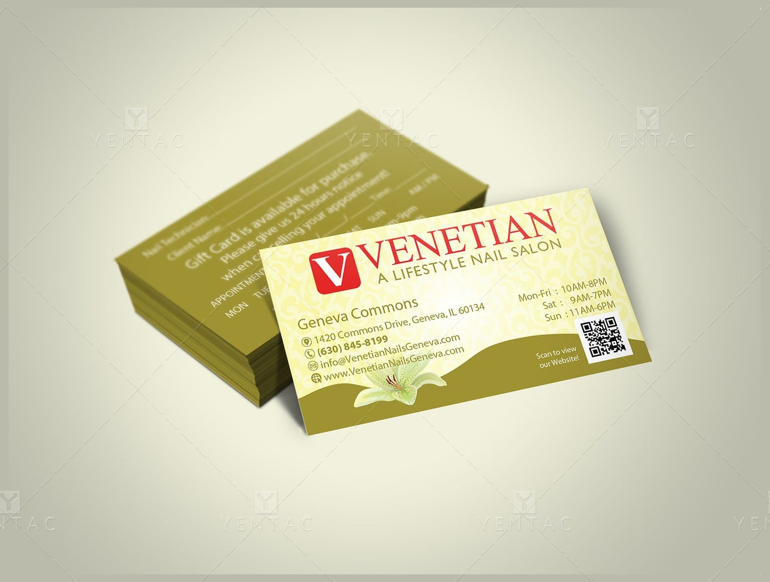 Business Card - Template buscard-05051A (No Picture)