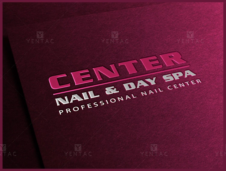 Logo - Nail Salon #5053 Center Brand