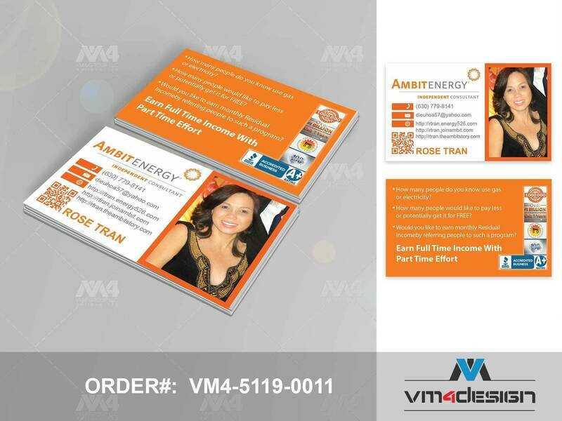 PartnerID:  #5119 - Custom Business Card Printing  & Design