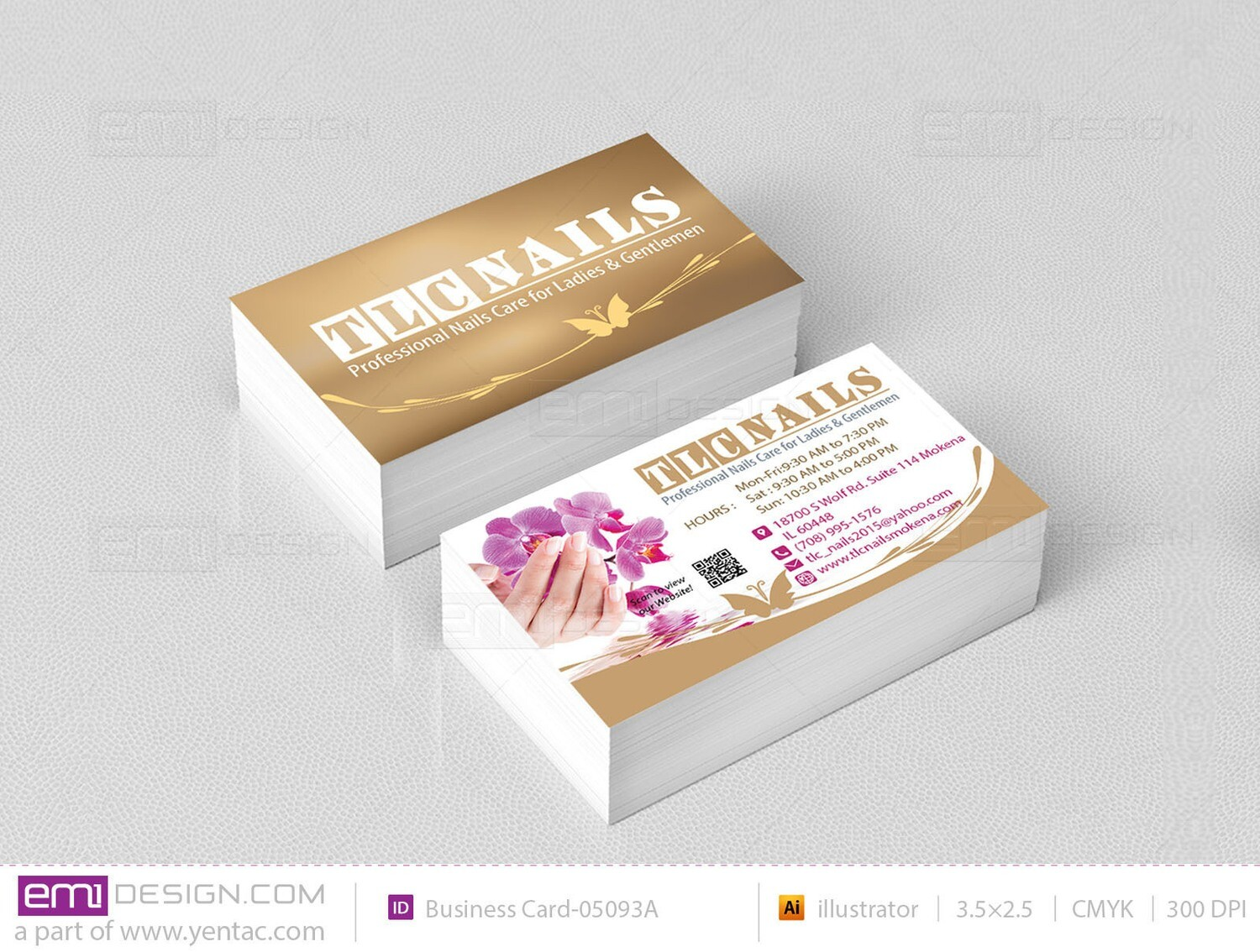 Business Card - Template BusCard-05093A