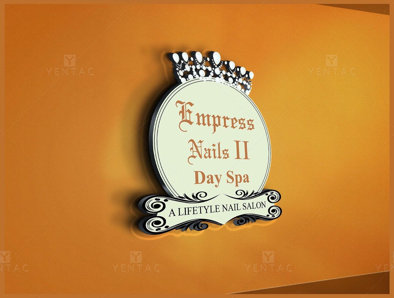 01 - Logo - Empress Nails Spa #4007 Salon