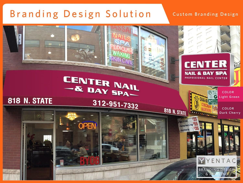 Branding Design - Nail Salon #5053 Center Brand